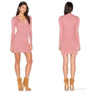 For Love And Lemons Dresses - Knitz For Love & Lemons Delancey Rib Knit Dress